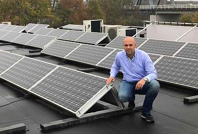 Duurzame ondernemer Stephan Peters (Spete ICT) bespaart € 1.200 op vastrecht